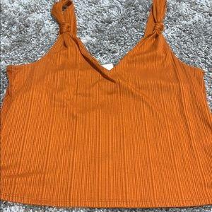 Burnt Orange tank top